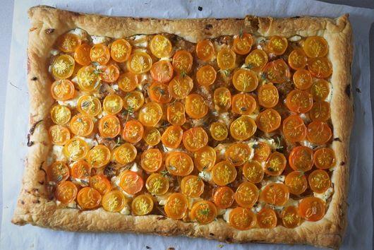 Sungold Tomato Tart