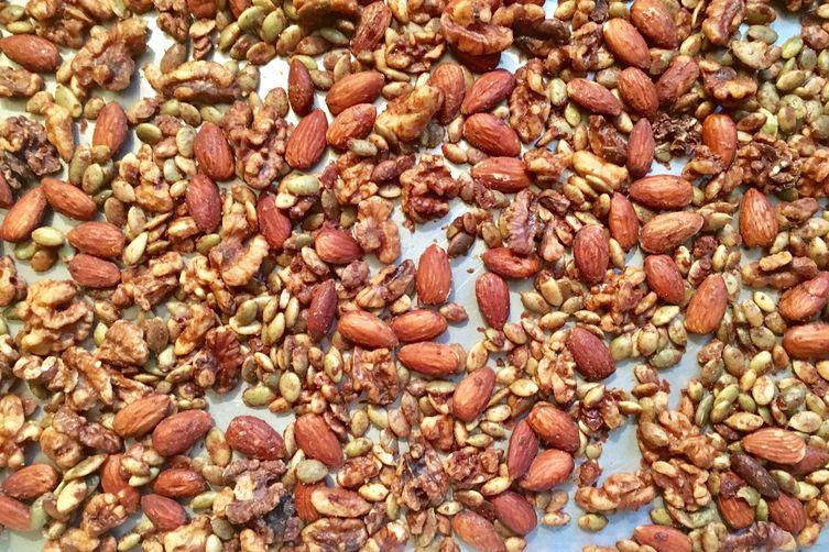 Pumpkin Spice Nut Mix