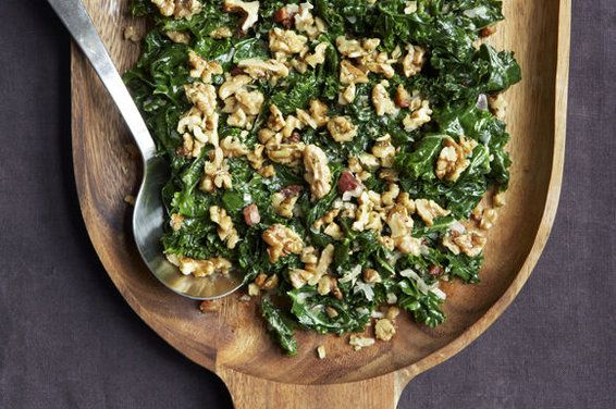 Kale with Pancetta Cream and Toasted Rosemary Walnuts by ...