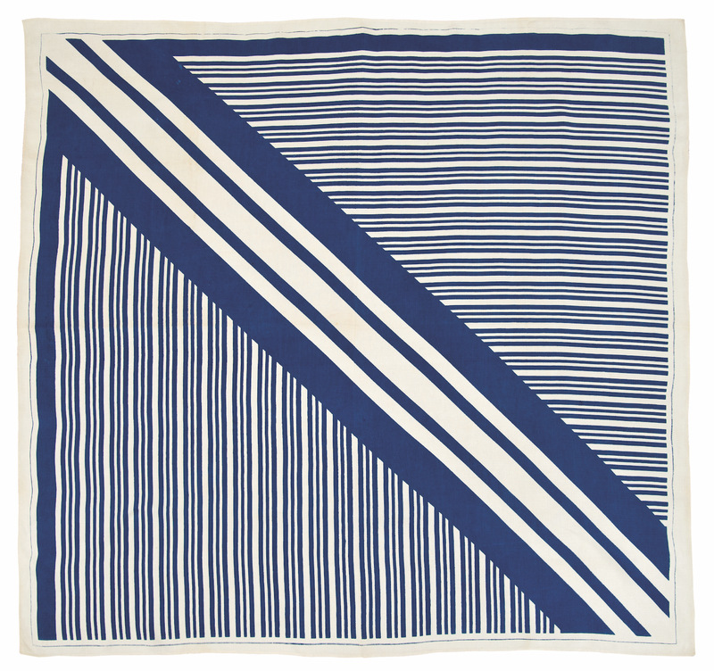 Marguerita Mergentime, Two-Timing tablecloth, 1935. Michael Fredericks, © Mergentime Family Archives