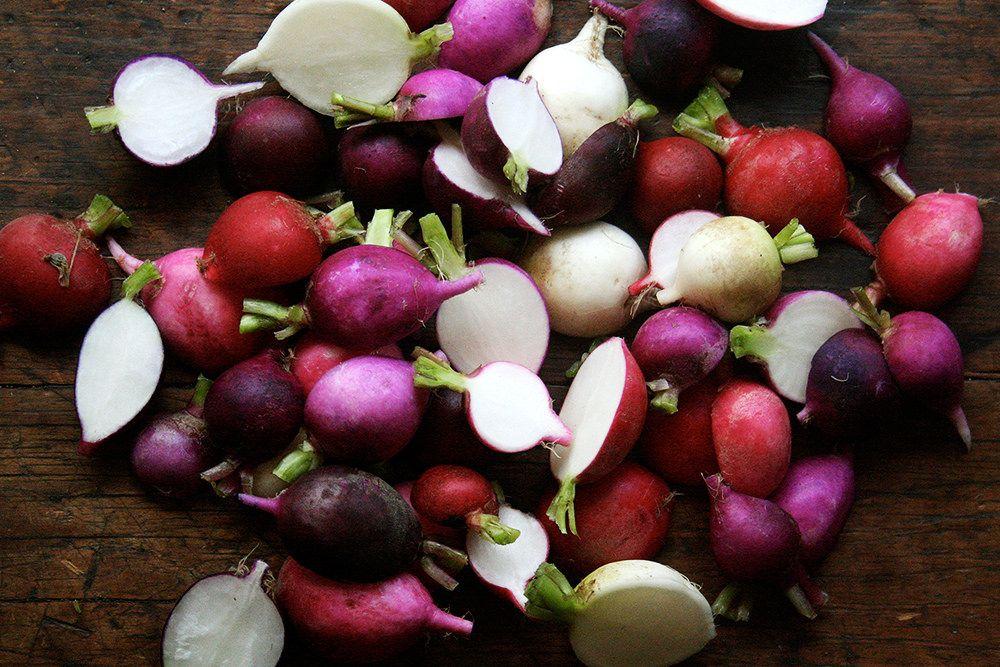 Radishes Halved on Food52