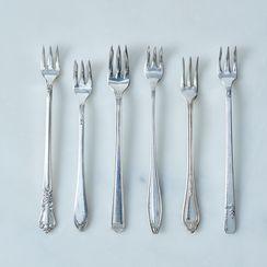 Vintage Oyster Forks (Set of 6)