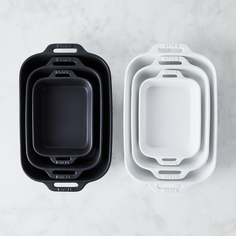 Staub Matte Ceramic Rectangular Baking Dish On Food52