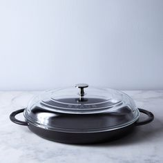 Food52 x Staub Steam Griddle with Glass Lid