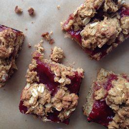 Gluten Free Raspberry Oatmeal Bars