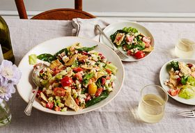 Bc806cc6 6f45 4472 900d e3178df9480f  2016 0726 summer panzanella with pita and tomatoes bobbi lin 1005