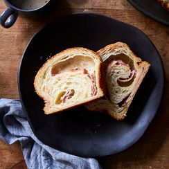Ham and Cheese Croissant Loaf