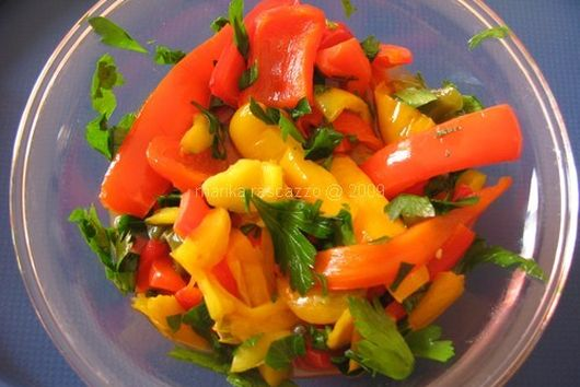 Sweet and Sour Bell Pepper
