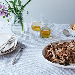 Purio White Serving Platter