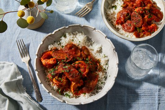 Spicy Shrimp & Sausage Creole for Mardi Gras (& All Year Long)
