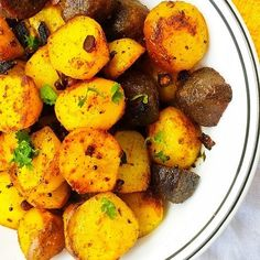 Baby Potato Roast - Indian Style