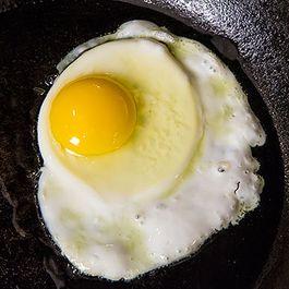 Making a Sunny-Side Up Egg