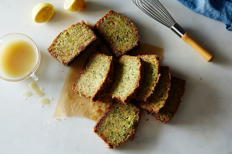 Gingery Olive Oil Zucchini Cake with Poppy Seeds and Lemon ...
