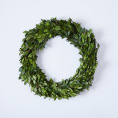 Boxwood & Myrtle Thin Wreath