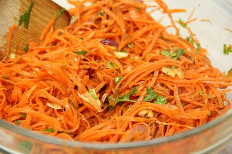 Korean Carrot Salad