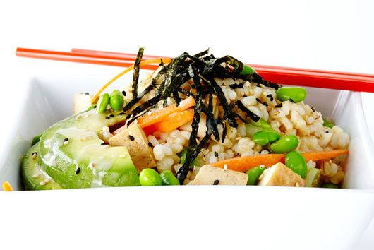 Sushi Salad with Tofu and Brown Rice