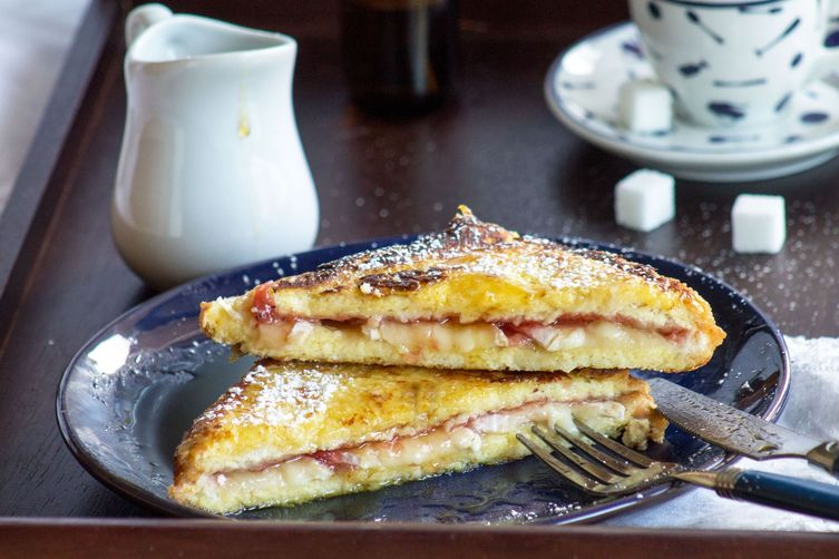 Brie and Jelly French Toast