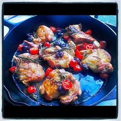 Cast Iron Chicken Thighs