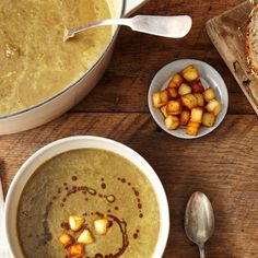 How to Feel Chic While Eating Lentil Soup