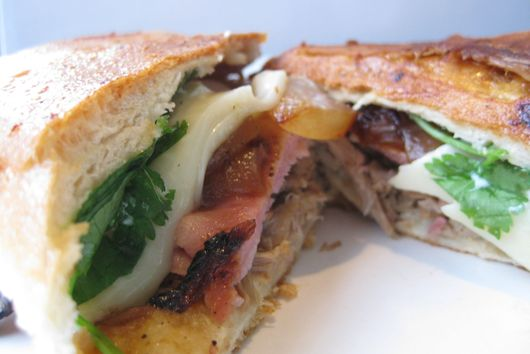 Paseo Style Cuban Pork Sandwich
