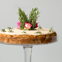 APPLE, HAZELNUT AND ROSEMARY CAKE