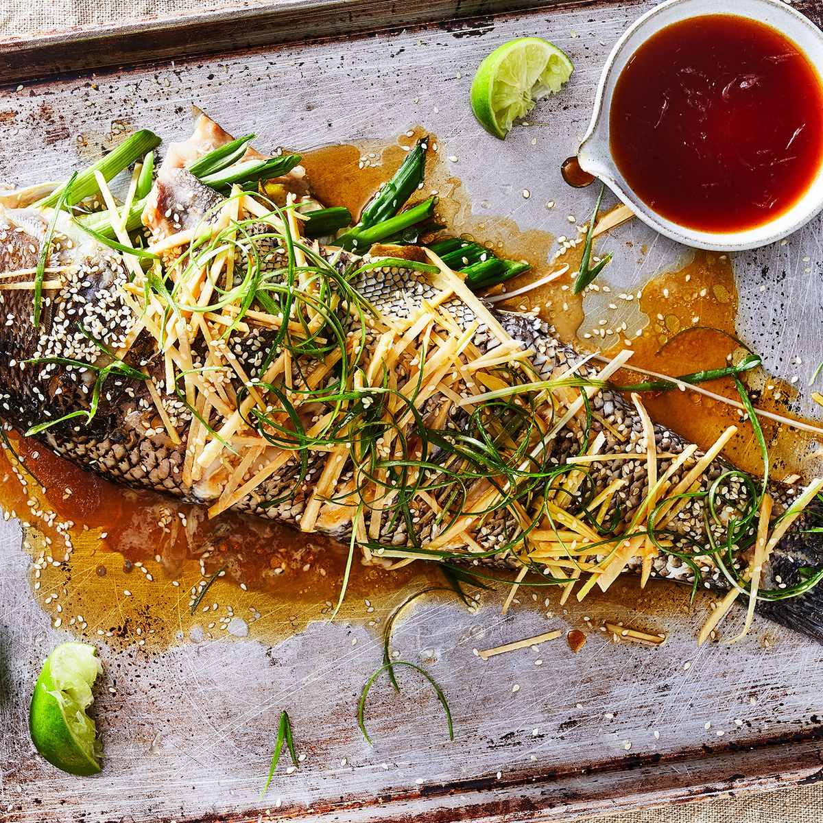 Steamed Fish With Ginger Scallions Recipe On Food52 Threads
