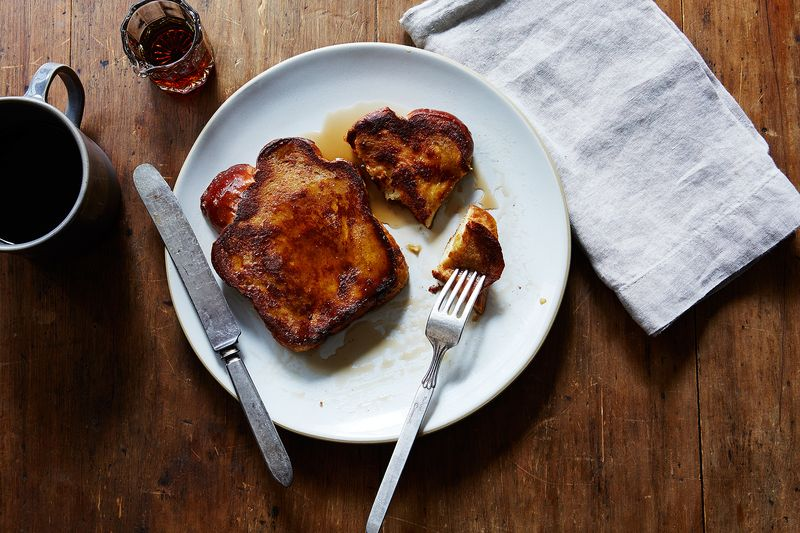 My Father's Challah Bread French Toast