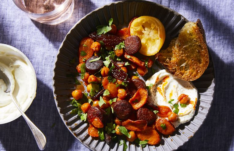 A Bold, Warming Sheet-Pan Dinner to Pull You Out of Wintry Blahs