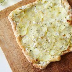 White Potato Pizza