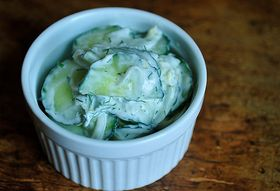Dinner Tonight: Citrusy Roast Fish + Cucumber Salad