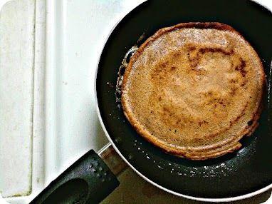Spiced Banana Chocolate Chip Pancakes