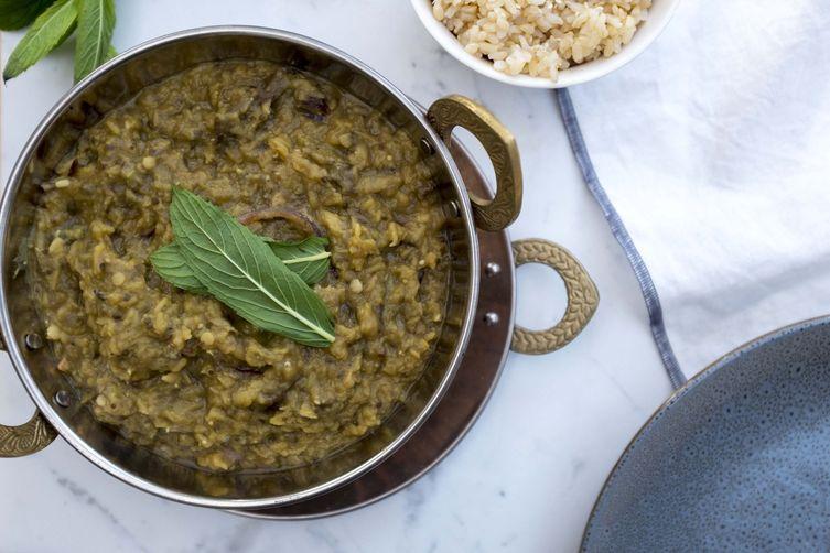 Vegan dal | Hidden veg red lentil dal
