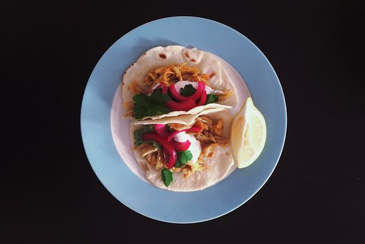 Persian Chicken Tacos