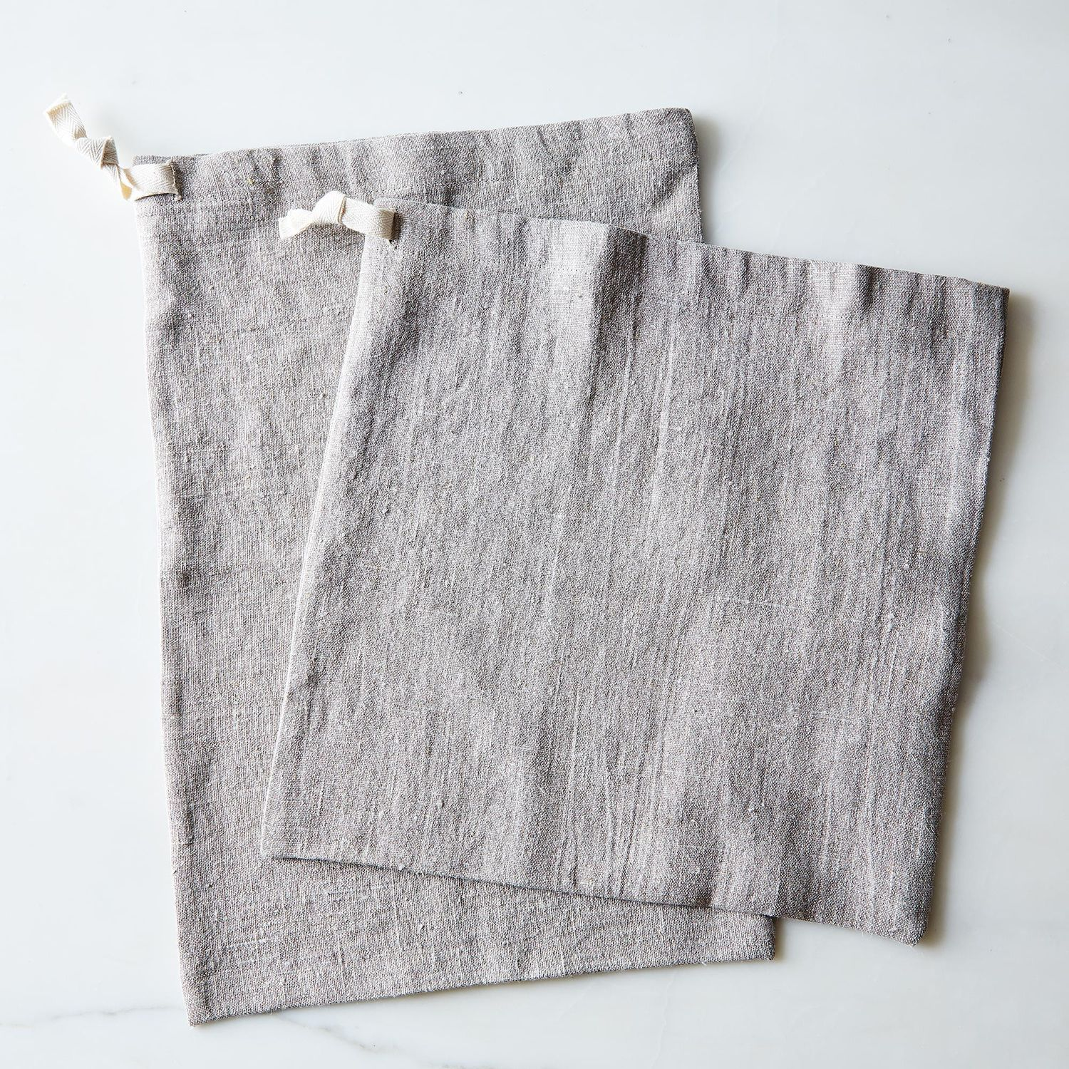 Linen Bread Bags Set Of 2 On Food52