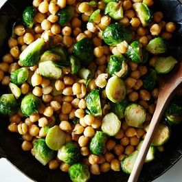 C8c837bd 5d75 4d75 9d20 d8c17aef3223  2014 1014 sauteed brussels sprouts and chickpeas 011