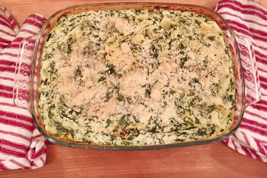 Chicken Ricotta Lasagna