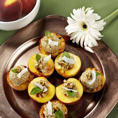 Stuffed Peaches - Beautiful Bounty