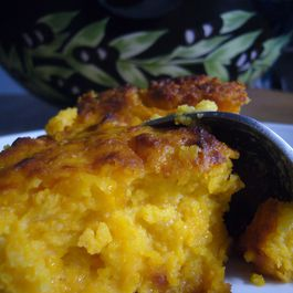 Roasted Butternut squash spoon bread by kcallison