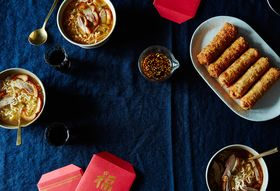 Cb213fa5 7a26 4dfe 8cbb 8d8c6539f231  2016 0126 crunchy spring rolls and roasted duck soup with radishes james ransom 021
