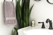 """A DIY Tiny Bathroom Renovation: Before, """"Almost-After"""" & Tips"""
