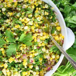 Jalapeño Cilantro Corn Salad