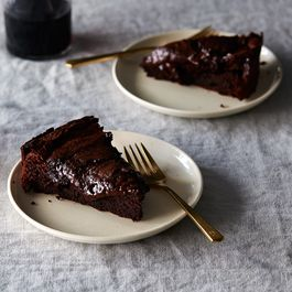 double baked chocolate cake by nana marie