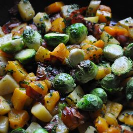 Autumn Vegetable Hash