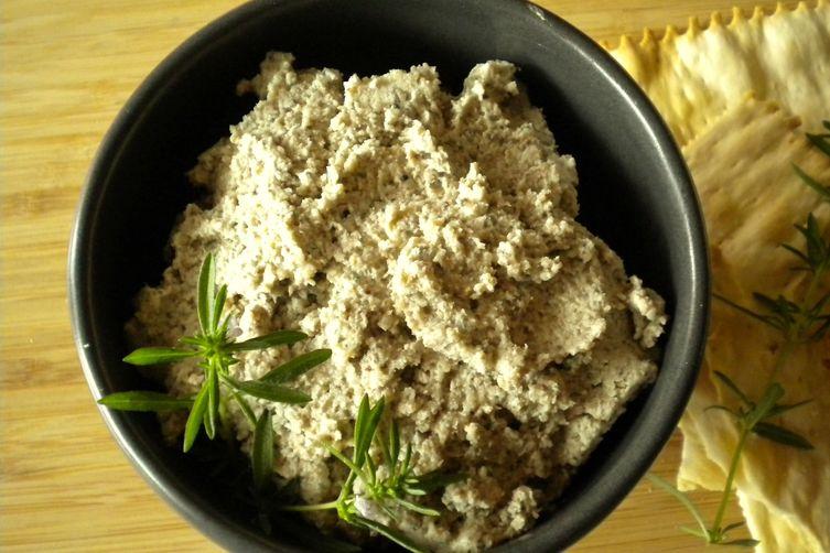 Summer Savory Mushroom Pate