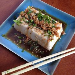 10-Minute Tofu-Scallion Appetizer