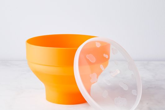 Collapsible Silicone Popcorn Popper