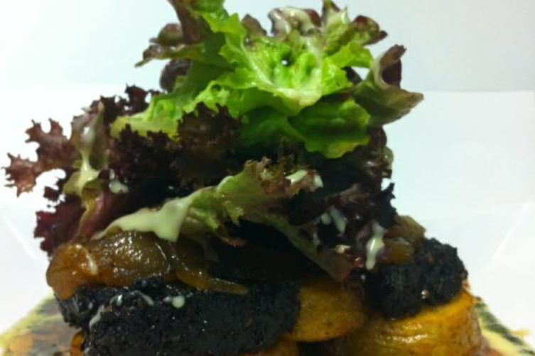 Granary Foodstore Black Pudding Salad