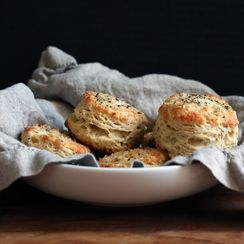 Give Biscuits the Cacio e Pepe Treatment