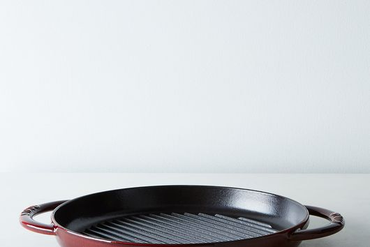 """Staub Round Double Handle Pure Grill Pan, 10"""""""