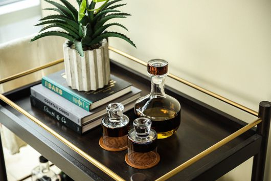 How to Stock Your Home Bar Cart so You Can Sip in Style